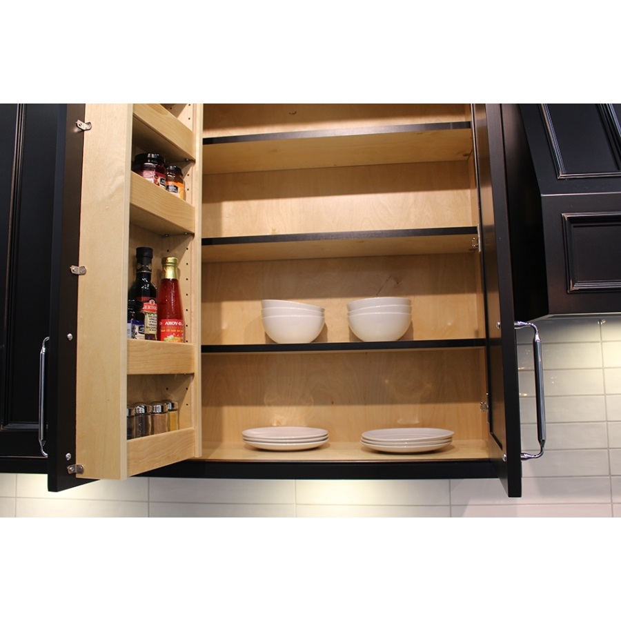 Door Mounted Spice Rack Lauriermax