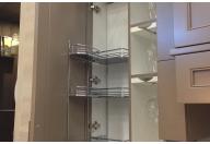 Door storage tray