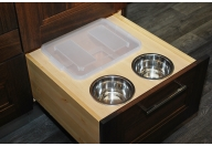 Feeding and storage drawers for pets
