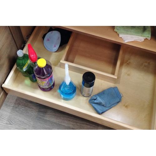 Sink drawer U-shaped