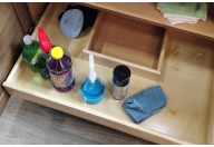 Sink drawer U-shaped