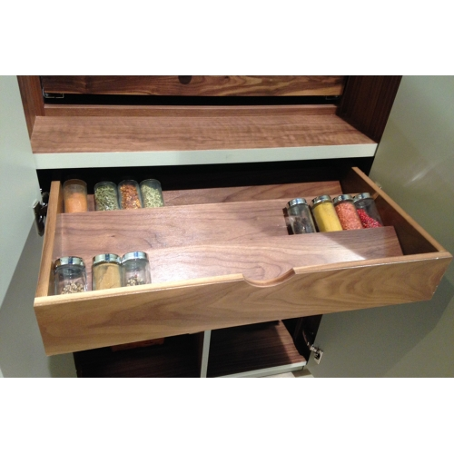 Spice rack insert