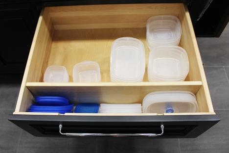 Organisateur pour plat en plastique