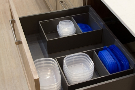 Diviseurs pour tiroirs profonds (Cuisio Flex)