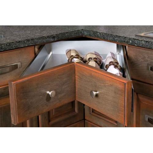 Corner drawer
