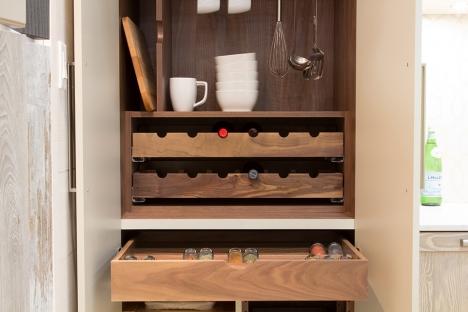 Wine storage drawers