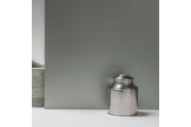 Mirror Grey Satin